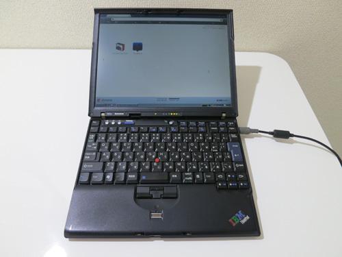 7年たった今でも動いてるThikPad X60s