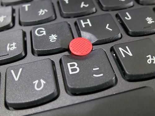 ThinkPad X240s 赤いトラックポイントはもちろん健在