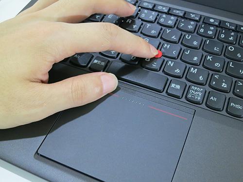 ThinkPad X240s レビュー クリック式のタッチパッド トラックパッドを使ってみた