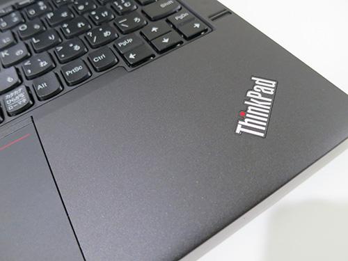 ThinkPad X240s パームレストが長くて文字が打ちやすい