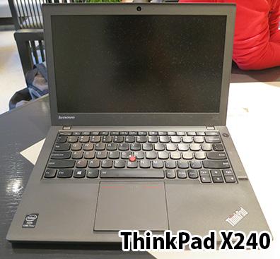 ThinkPadX240レビュー