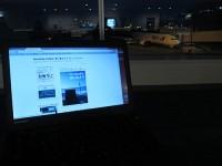 羽田空港でThinkPadX240s