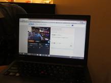 ThinkPadX240の内蔵カメラの性能がなかなかいい