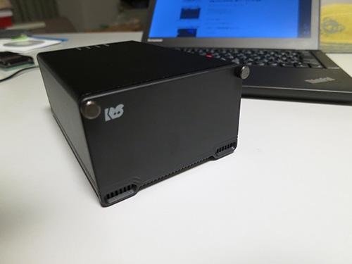 2.5インチHDDを2ついれてセットアップ完了 RS-EC22-U3R