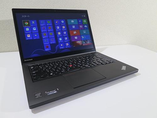 ThinkPad T440sのレビュー 全体外観