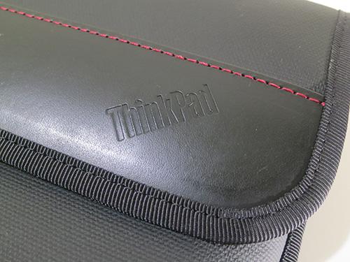 ThinkPad X240s/X240/X230 プレミアムケース 牛革にThinkPadの刻印が