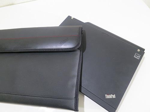 ThinkPad X240s/X240/X230 プレミアムケース X200s+9セルバッテリーも入れてみた