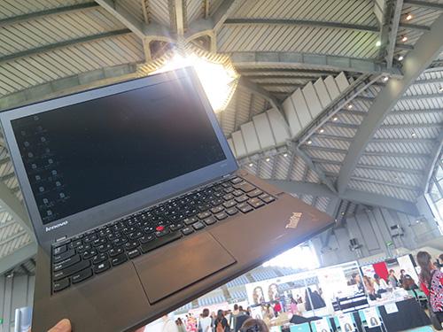 ThinkPad X240s in沖縄コンベンションセンター