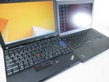ThinkPad X200sとX240s windows8をインストールして起動対決