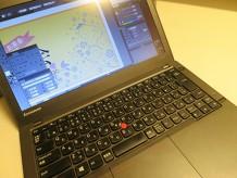 ウルトラブックでイラストレーターフォトショップは使えるのか ThinkPad X240s