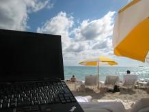 マイアミビーチでThinkPad X200s