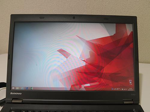 ThinkPad T440p 色補正をした