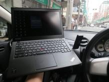 Thinkpad X240sをナビ代わりに車の中で使う