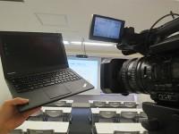 ThinkPad X240sとNX5J 業務用ビデオカメラ