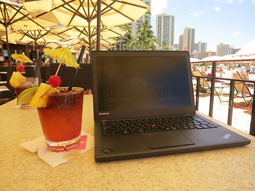 ThinkPad X240sとロイヤルマイタイ