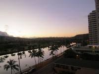 ちょっと変わったハワイの日の出