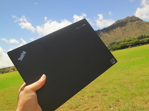 ThinkPad X240s ハワイでの使い方