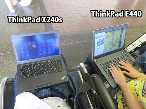 ノートパソコンを膝の上で使うのならば・・・