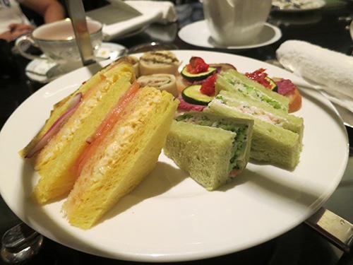 イブニングキュートティー サンドイッチ