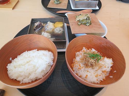 茶酒 金田中 でランチ