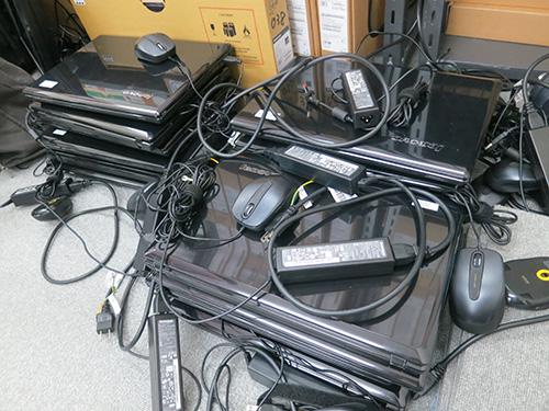 レノボのGシリーズがパソコン教室のノートPCとして使っていた