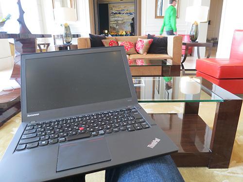 ThinkPad X240sはスリープ移行と復帰が速い