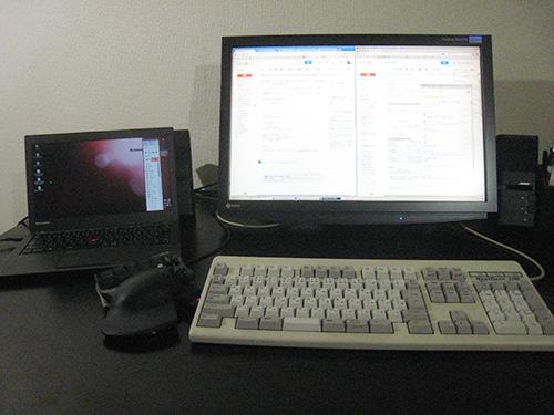 デスクトップとノートパソコンの使い分け