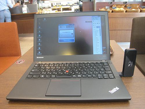 ThinkPad X240sを使ってメール返信や文章打ち