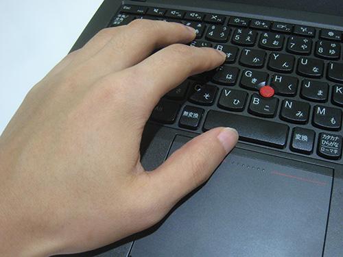 ThinkPad X240s X240 疲れていた頃の左クリック