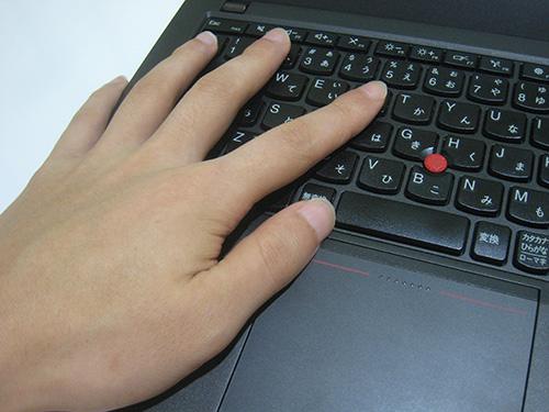 ThinkPad X240s X240 疲れない左クリック