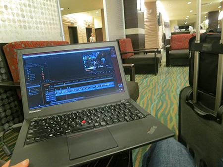 SSDだと動画編集が快適になる