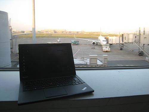 ThinkPad X240sをもって沖縄へ→