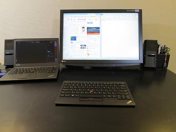 ThinkPad Bluetooth ワイヤレス・トラックポイント・キーボードを導入したら机の上がすっきり