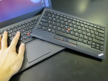 ThinkPad X240s 一体型のトラックパッドのクリックが固いのでブルートゥースキーボードを導入