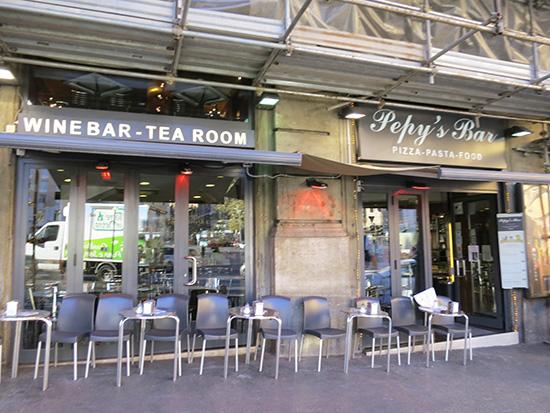 Pepy's Bar の外観