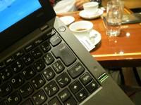 ThinkPad X240sのSDカードスロットを使って動画ファイルをコピー
