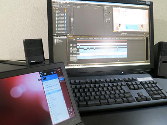 X240sを使ってスカイプ通話 内蔵のマイクの性能が高くなってる