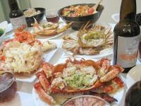 4大ガニを食べ尽くす蟹パーティー開催