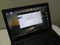 ThinkPadがとどいたら、まずsystem updateをしよう