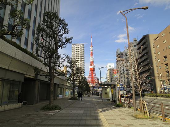 ThinkPad X240sを持って東京タワー周辺をお散歩