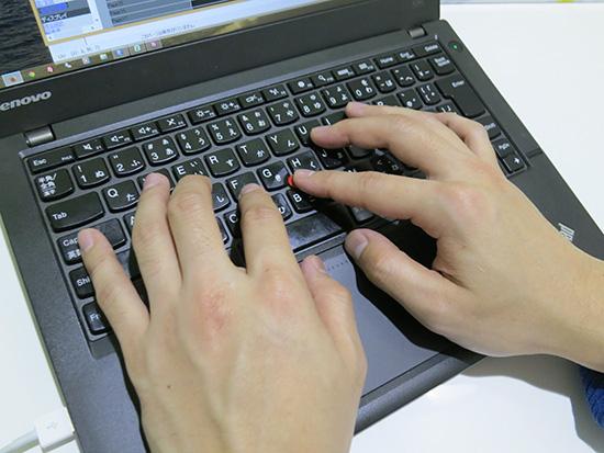 ThinkPad 赤ぽっち トラックポイントがあればホームポジションを崩さず作業出来る