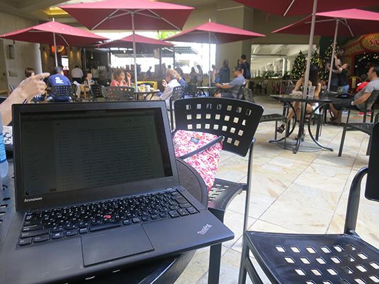 ノートパソコンがあればどこでもオフィス