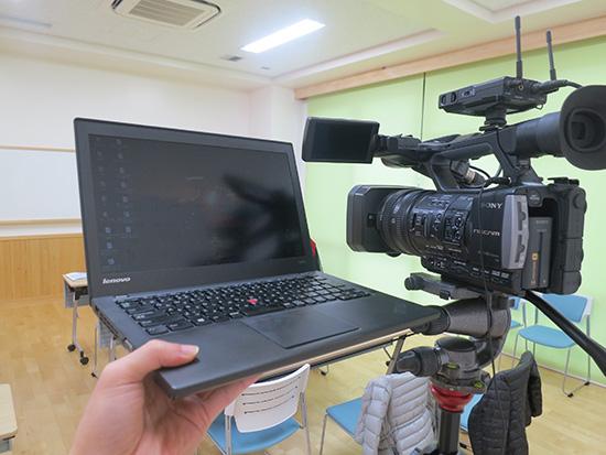 業務用ビデオカメラ HXR-NX3からThinkPad X240sに動画ファイルを取り込む