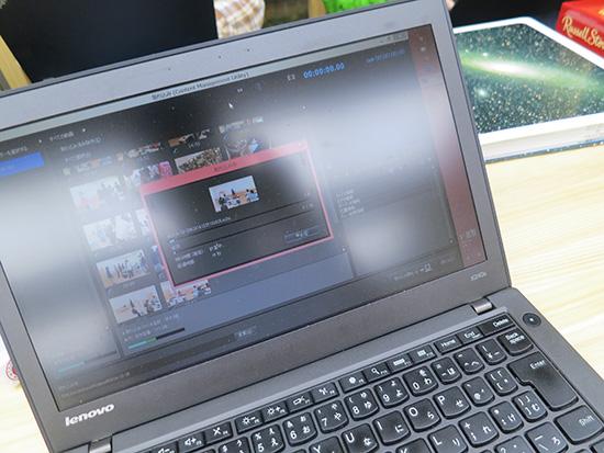 SDカードスロットがあるX240sならば撮ってすぐに動画を取り込めるのが便利