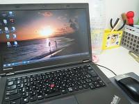 ThinkPad T440pにハワイ壁紙