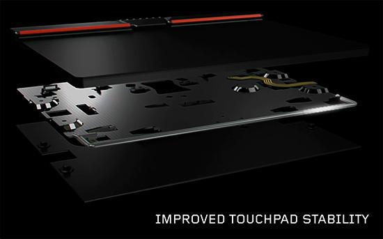 ThinkPad X250 T440s 3ボタンクリックパッドの機構