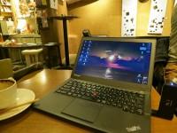 ThinkPad X250でデルタのビジネスクラスを予約