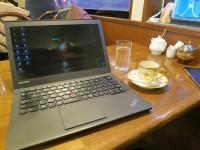 ThinkPad X240sとエスプレッソ