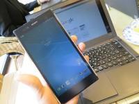 ocnモバイルワンのSIMを入れてXperia Z ultra に ThinkPadX240sをつなげる