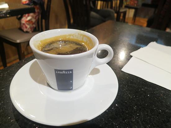 ハワイ コーヒー or ティー?でエスプレッソ